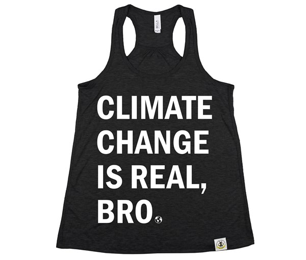 Climate Change Women's Tank (Black)