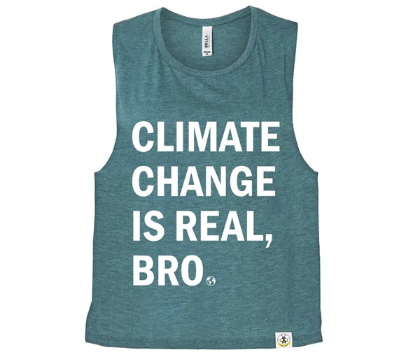 Climate (Muscle Tank) - Heather Teal