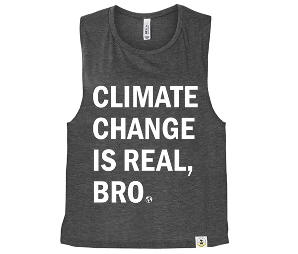 Climate (Muscle Tank) - Charcoal