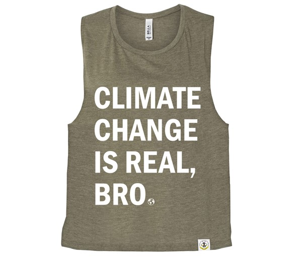 Climate (Muscle Tank) - Heather Olive