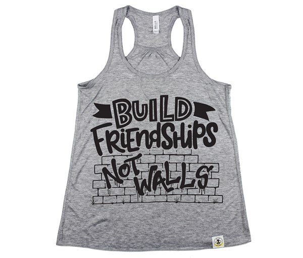 Build Friendships (Women's Tank) - Grey