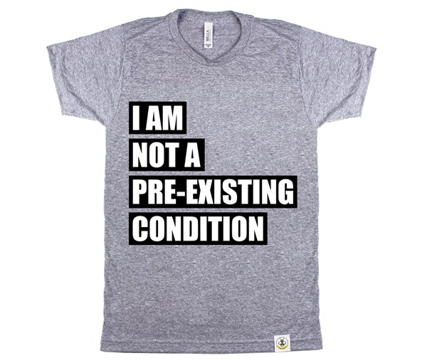 Pre-existing Condition (Unisex) - Grey