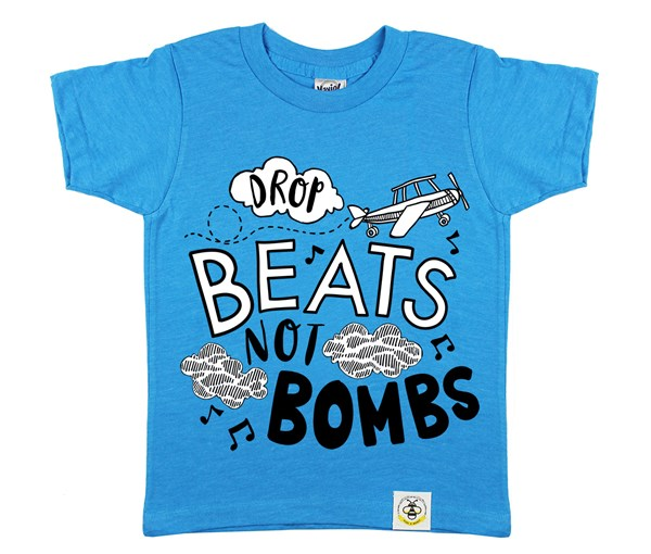 Drop Beats, Not Bombs (Island Blue)