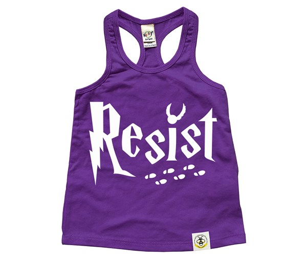 Resist Racerback Tank (Purple)