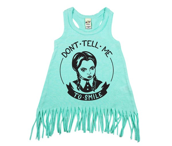 Don't Tell Me Fringe Dress (Mint)