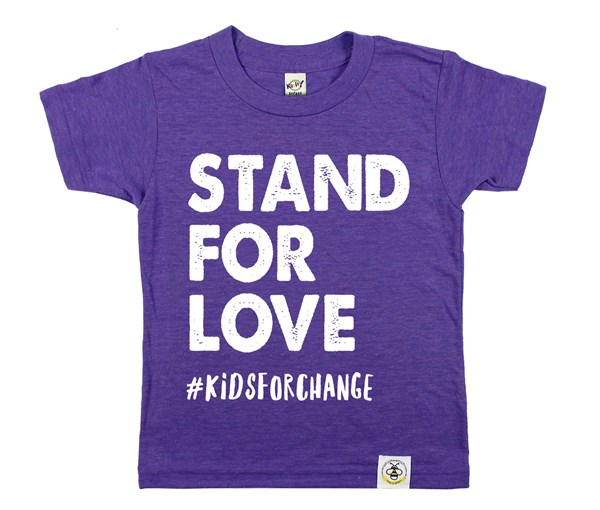 Stand for Love (Purple)