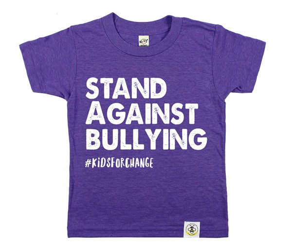 Stand Against Bullying (Purple)