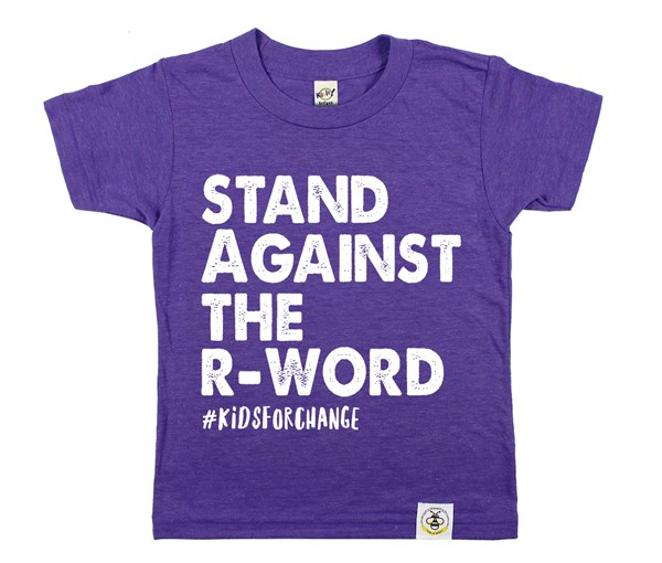 Stand Against the R-Word (Purple)