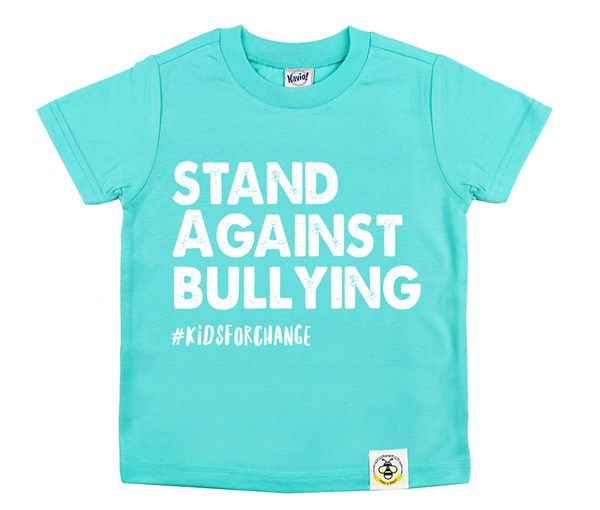 Stand Against Bullying (Caribbean Blue)