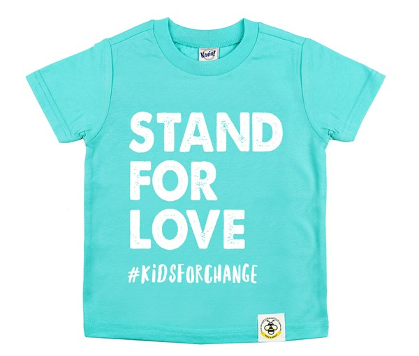 Stand for Love (Caribbean Blue)