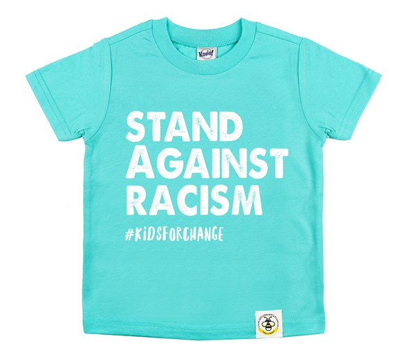 Stand Against Racism (Caribbean Blue)