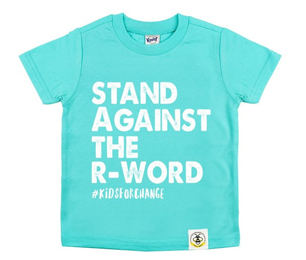 Stand Against the R-Word (Caribbean Blue)