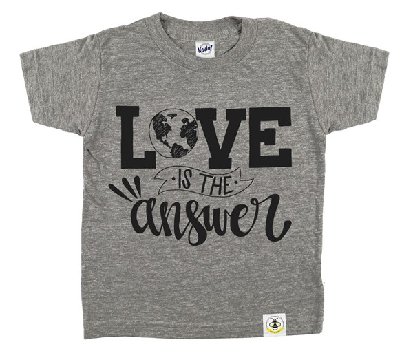 Love is the Answer (Grey)