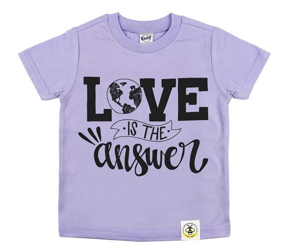 Love is the Answer (Lavender)