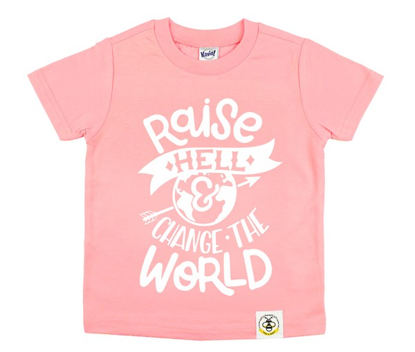 Raise Hell (Flamingo, White)