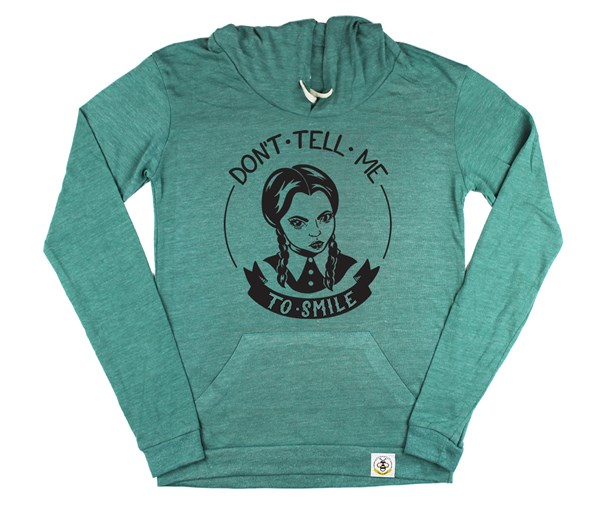 Don't Tell Me Women's Hoodie (Green)