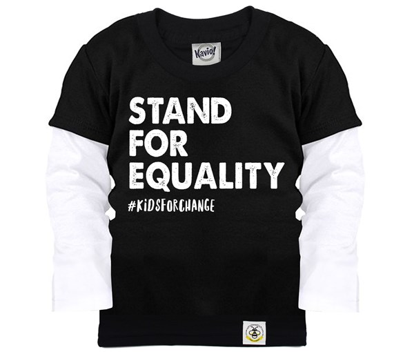 Stand for Equality Layered Tee (Black)