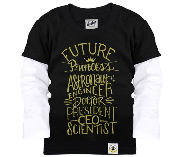 Future Layered Tee (Black)