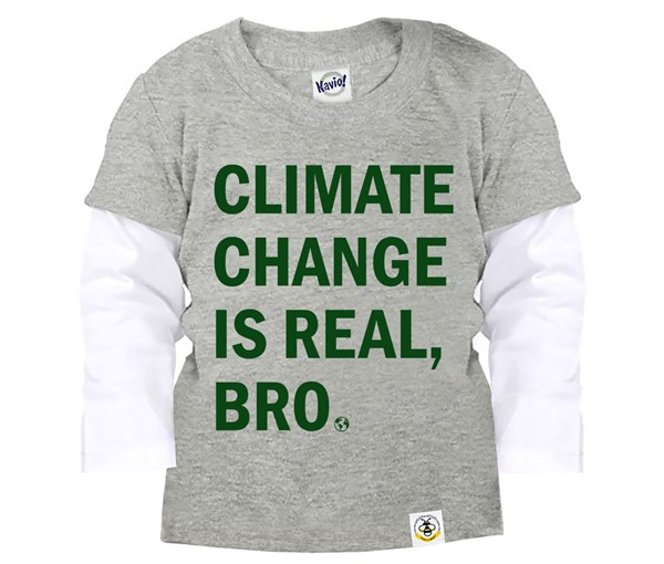 Climate Change Layered Tee (Grey)
