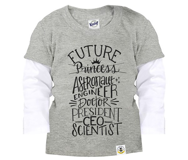 Future Layered Tee (Grey)