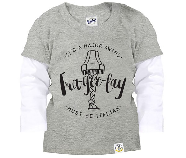 Frageelay Layered Tee (Grey)