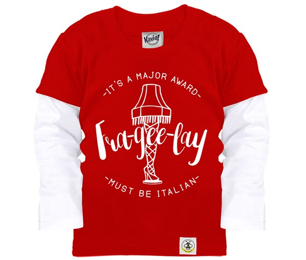Frageelay Layered Tee (Red)
