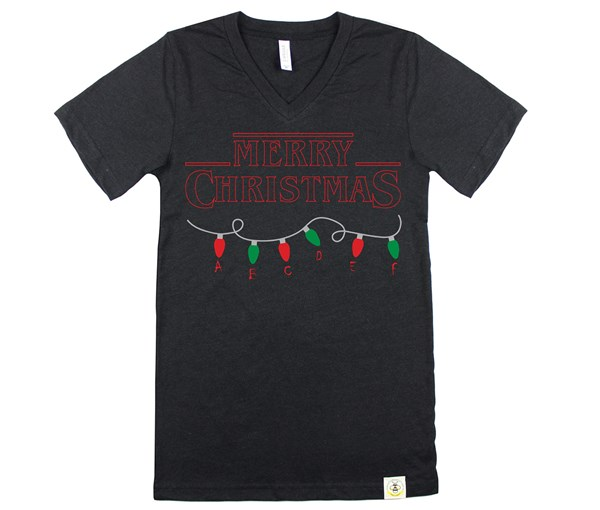 Stranger Christmas Adult Unisex (Heather Black)